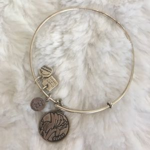 alex and ani / flower sister adjustable bracelet